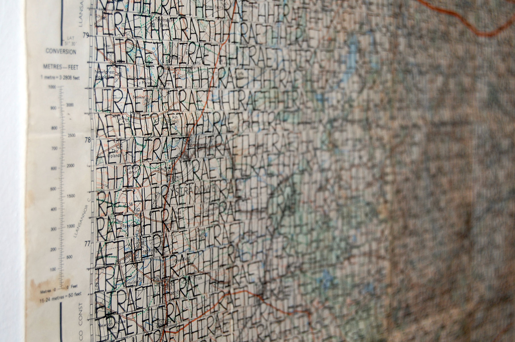 Map Drawings - Hiraeth