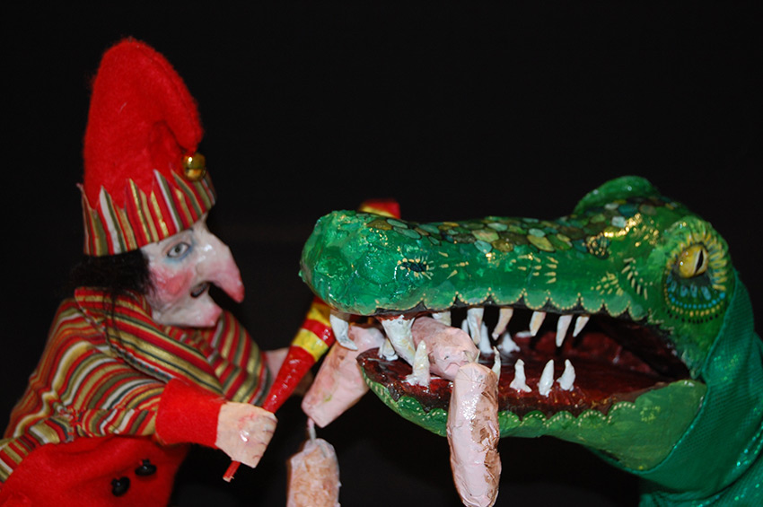 Punch & Judy puppet show by Layla Holzer & Spike Dennis