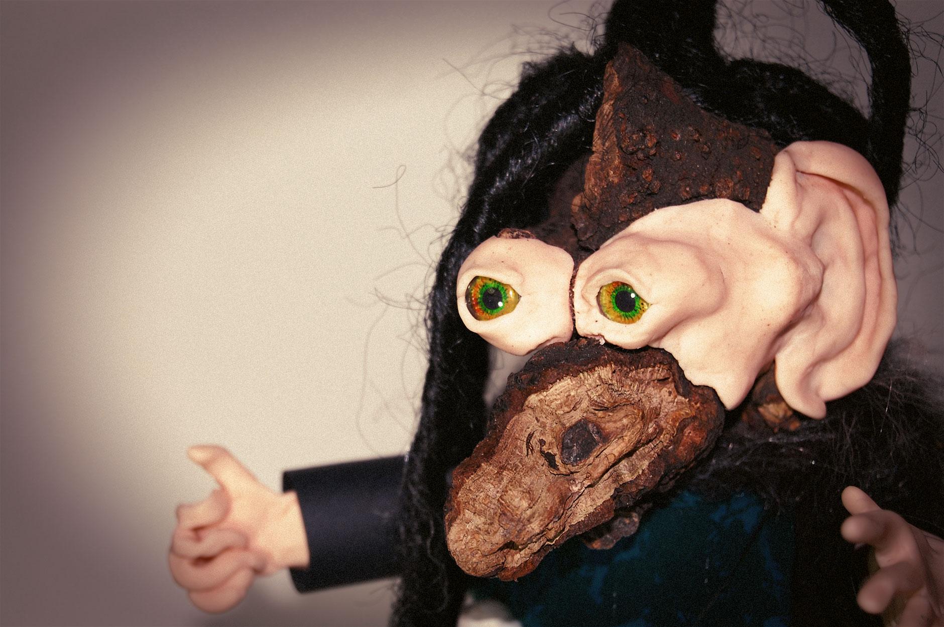 Baba Yaga Glove Puppet