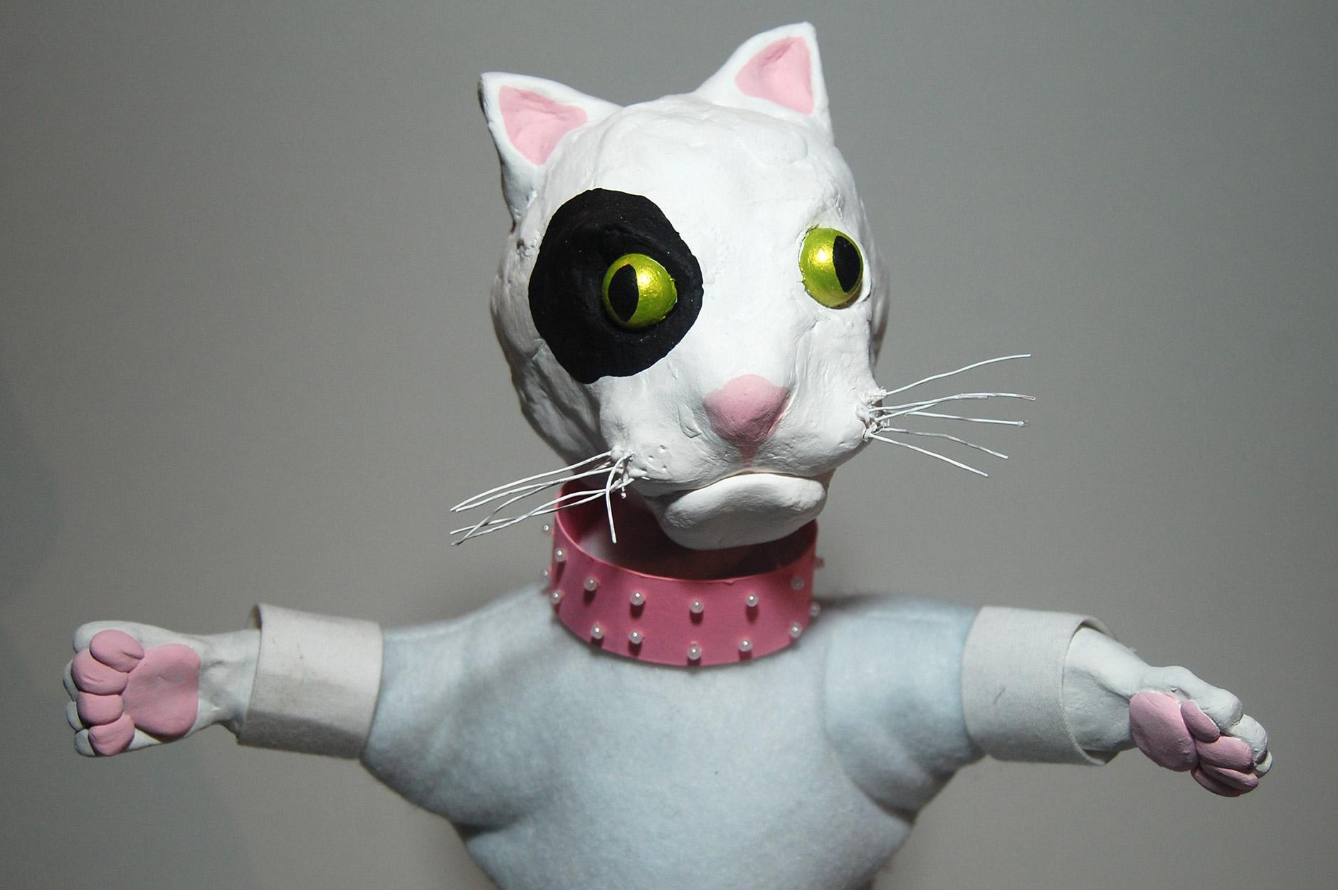 Vaska Cat Glove Puppet