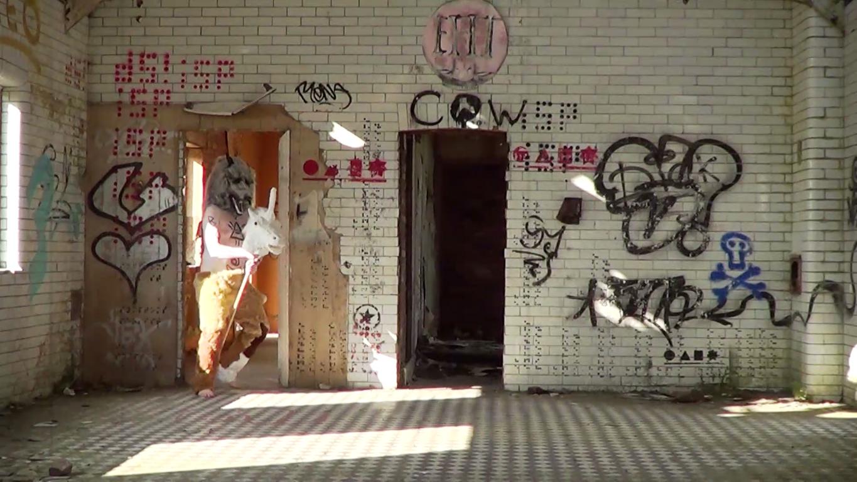 The Wilder Man - Farmer McPhallus Wild Man Performance Art Video St Athan Boys Village