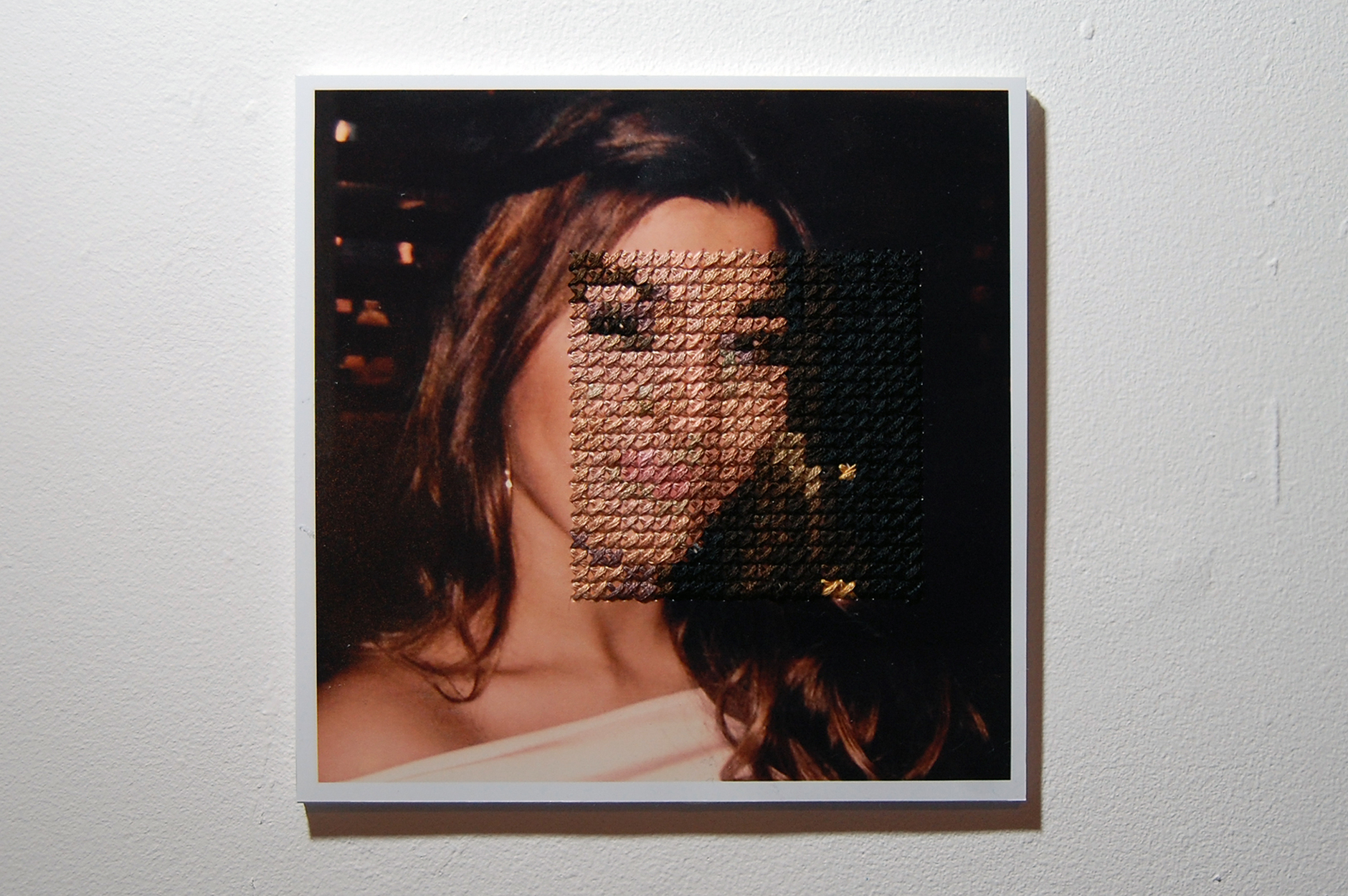 Embroidered Photographs as Contemporary Art