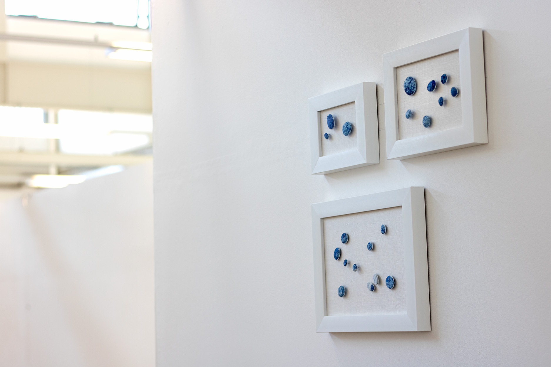 Installation shot of Arctic artwork