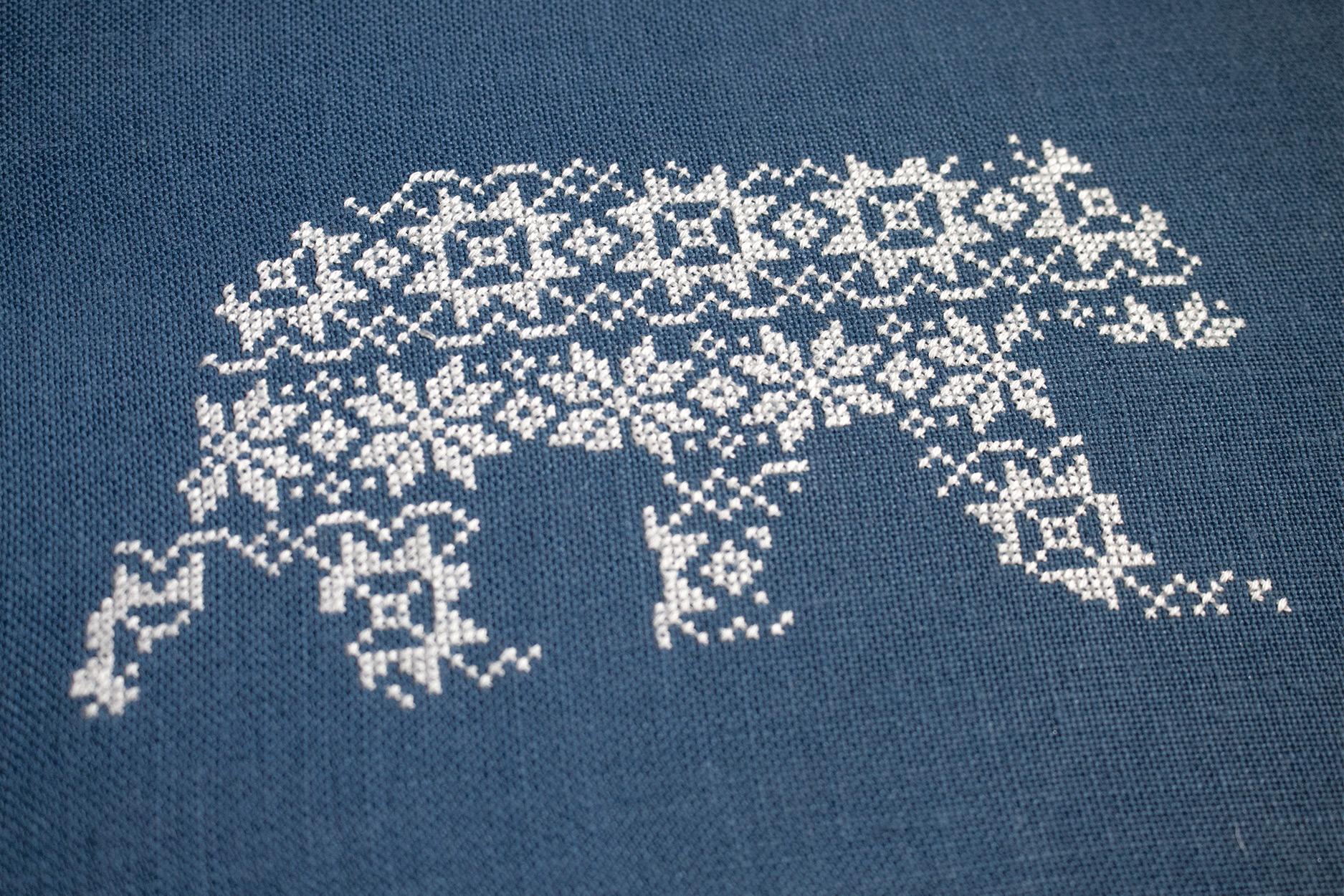 Cross Stitch Polar Bear