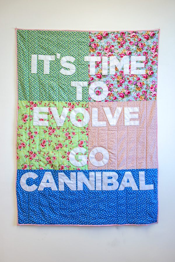 It's Time to Evolve! Go Cannibal!