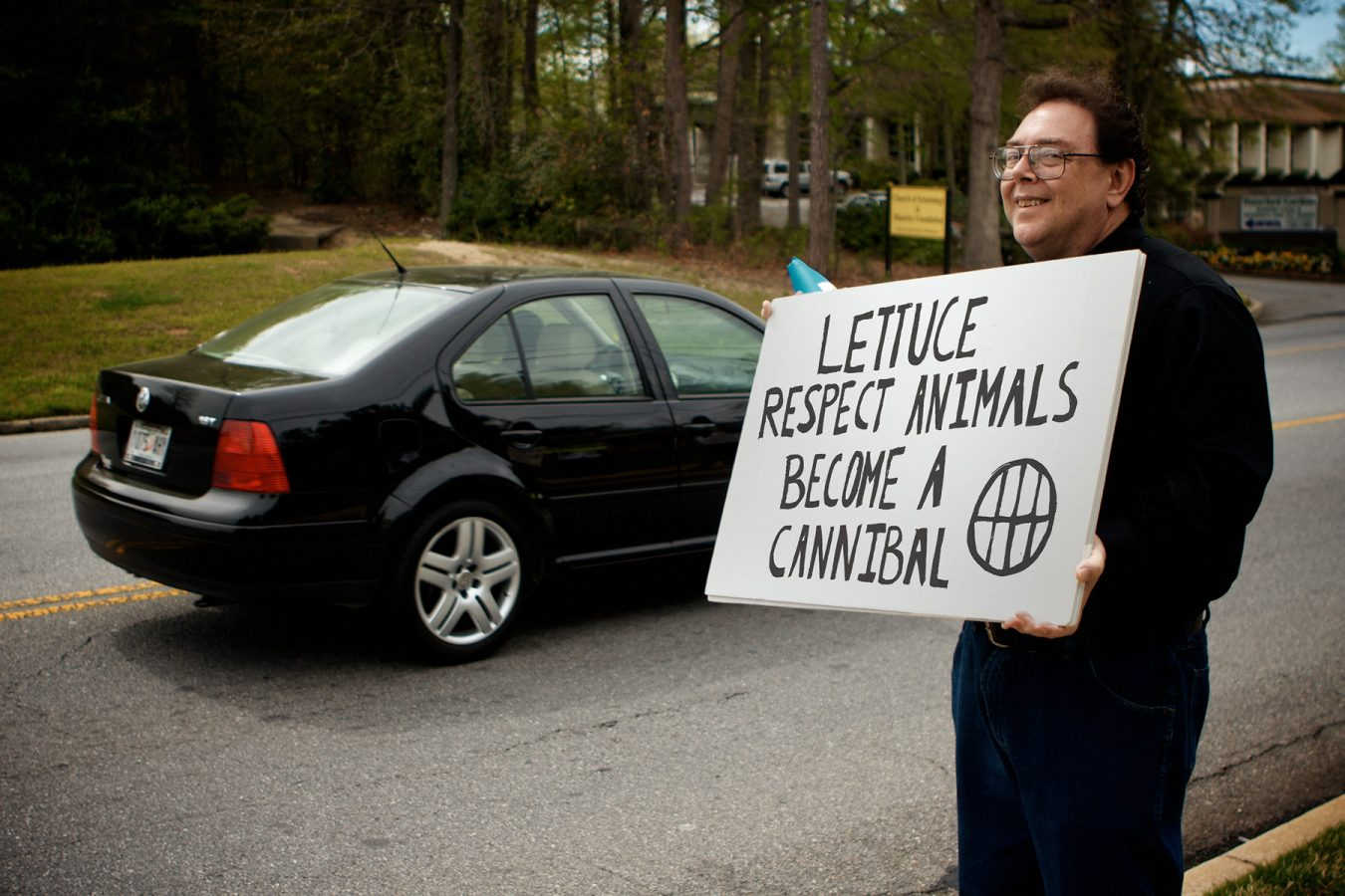 Lettuce Respect Animals, Become a Cannibal