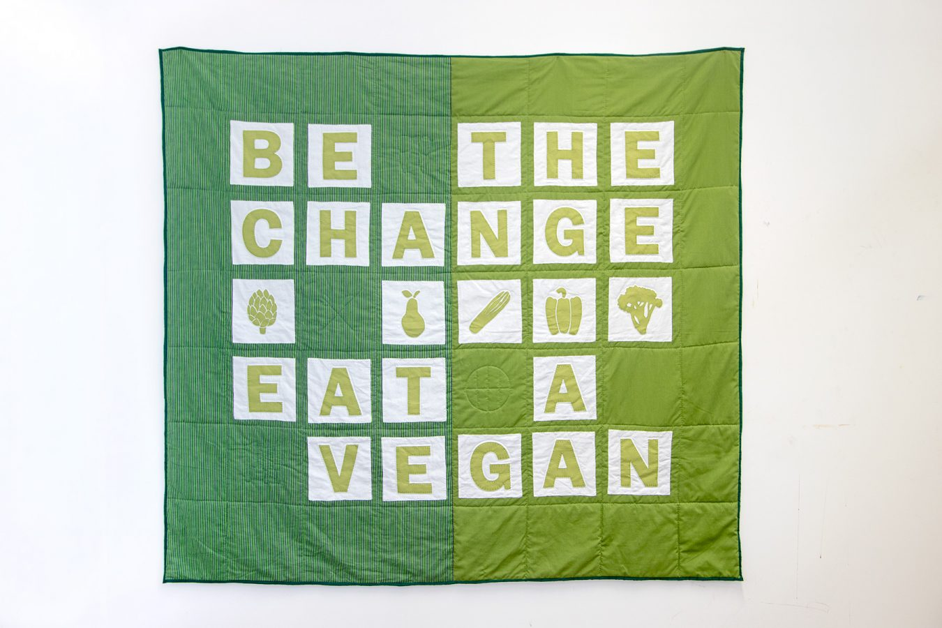 Be The Change, Eat a Vegan