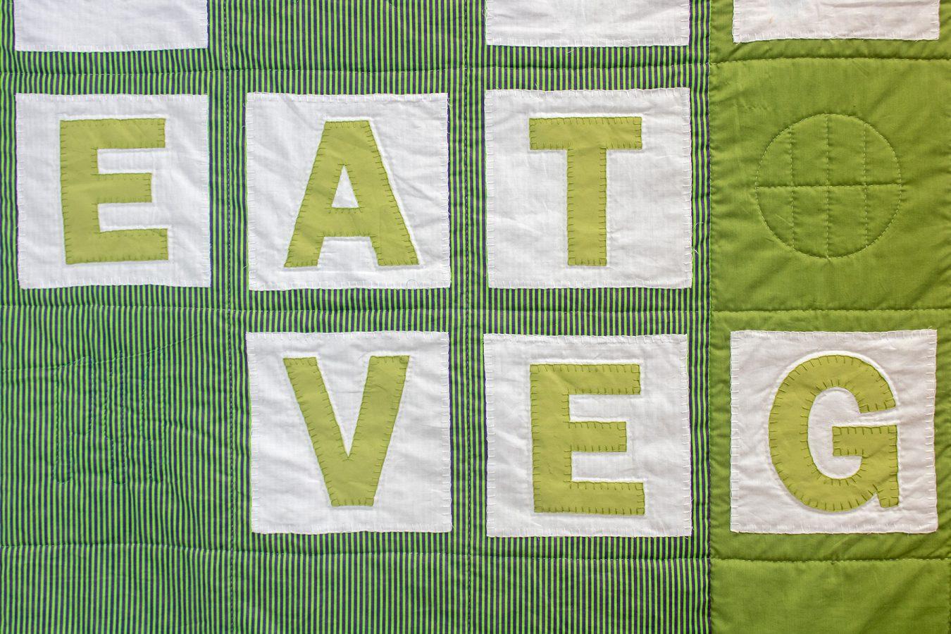 Be The Change, Eat a Vegan (Detail)-WEB