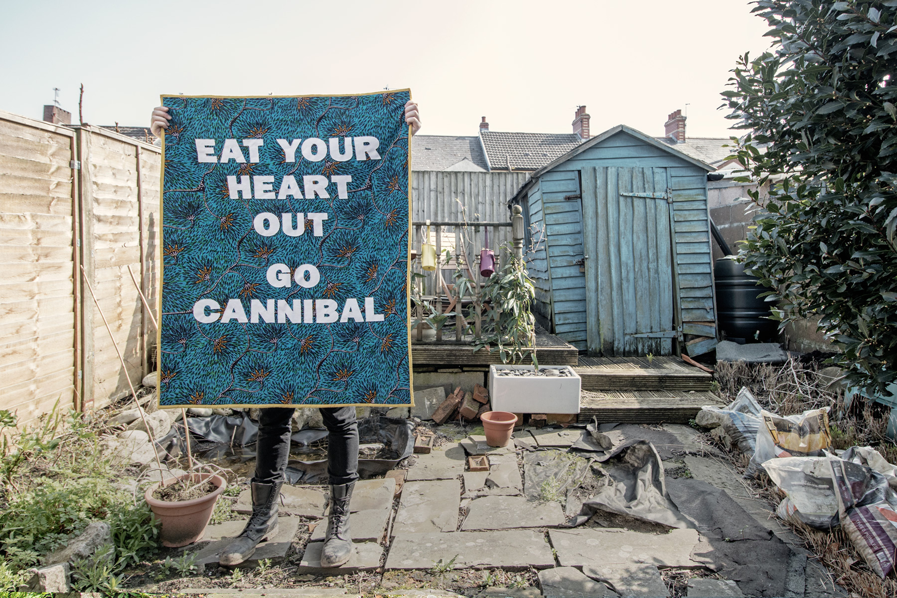 Eat Your Heart Out! Go Cannibal!