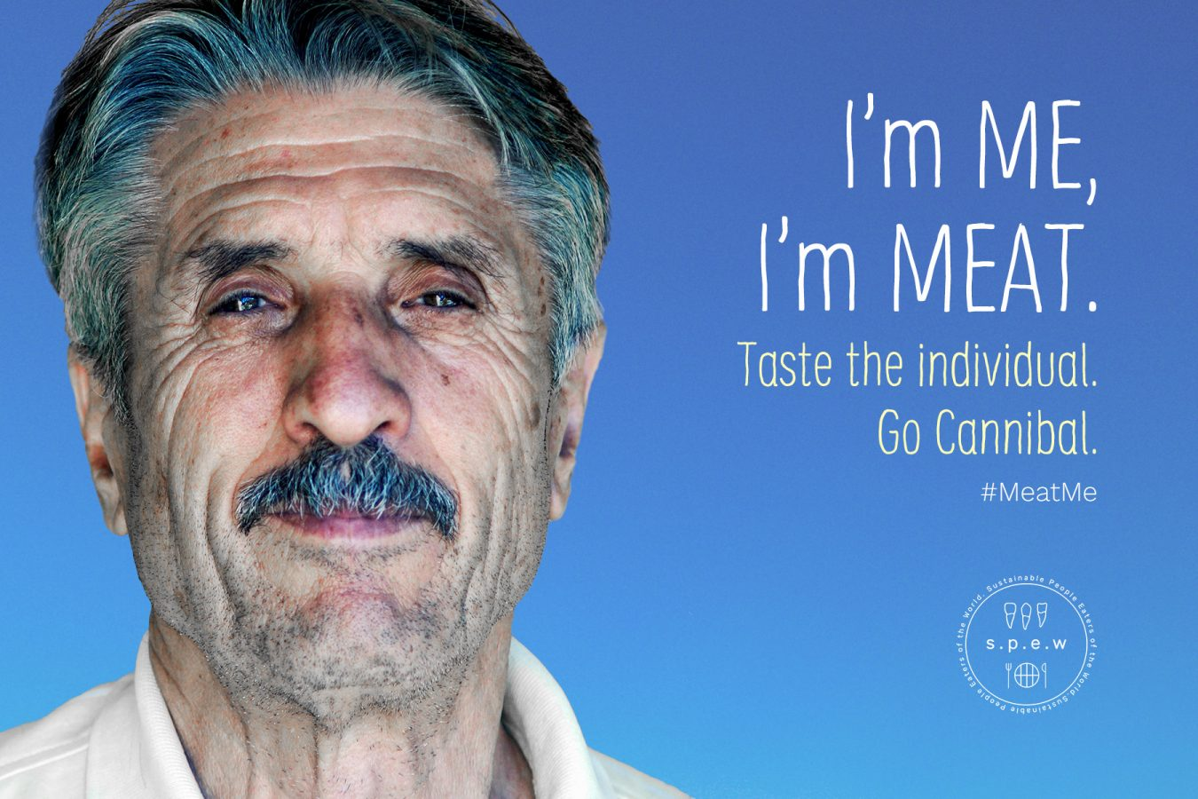 #MeatMe Campaign Poster