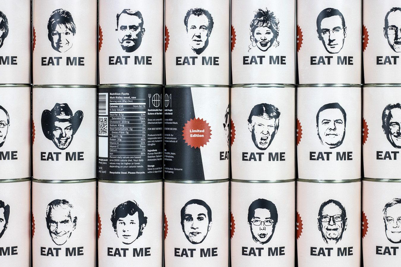Eat Me – Tins of Human Flesh