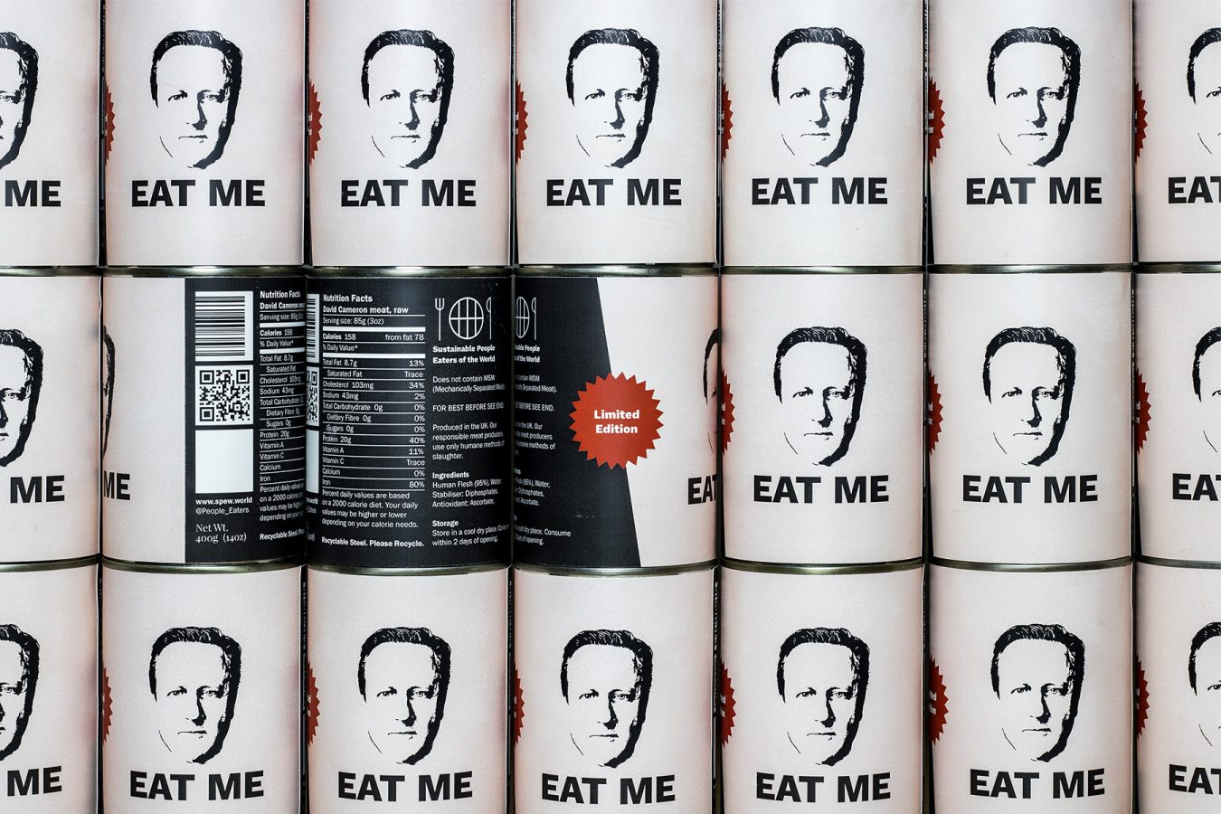 David Cameron in a Can