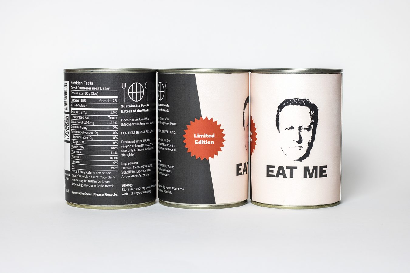 Limited Edition David Cameron in a Can