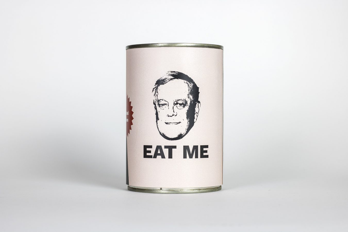 Eat Me – David Koch in a Can