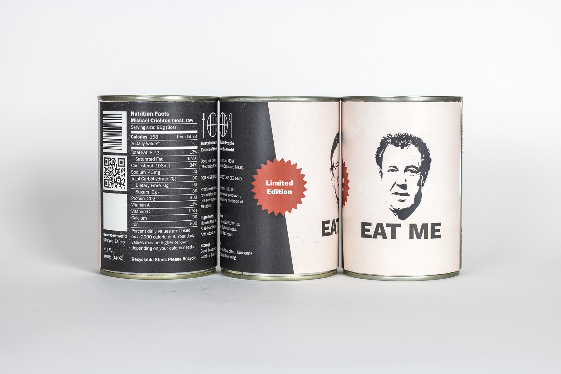 Jeremy Clarkson man meat in a can
