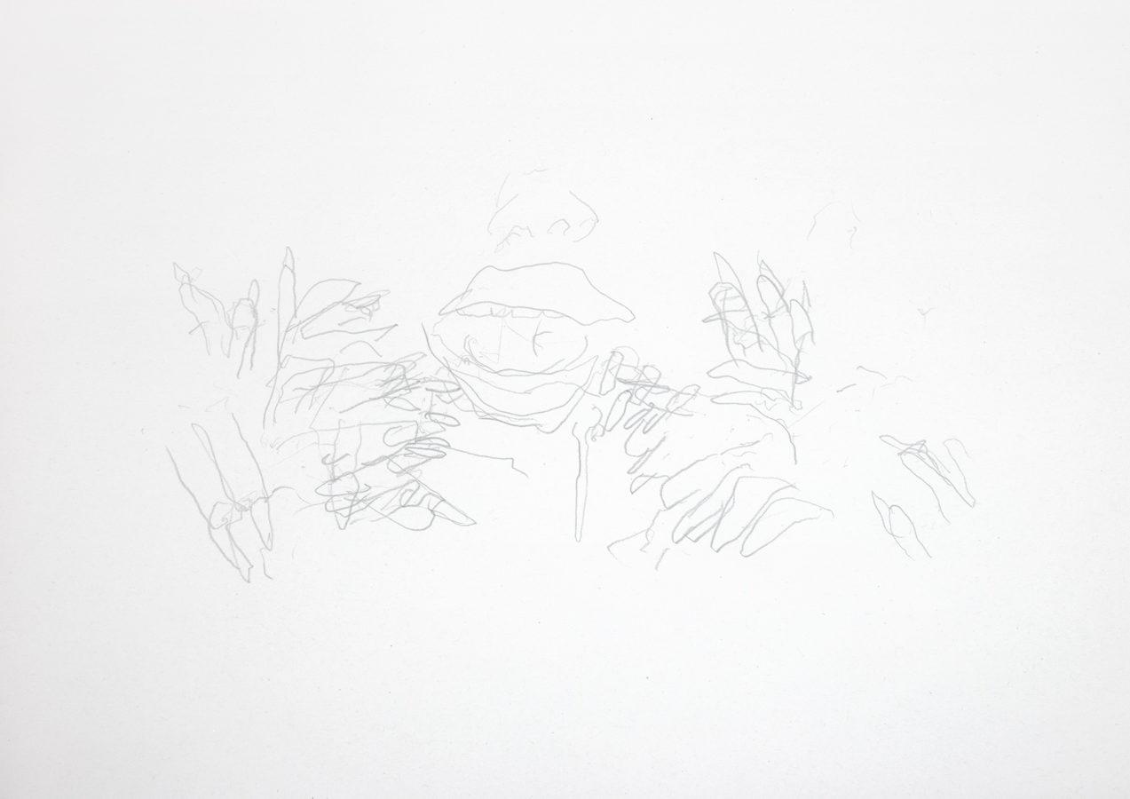 SavageESavage Eating (Pencil Drawing)ting_019_WEB