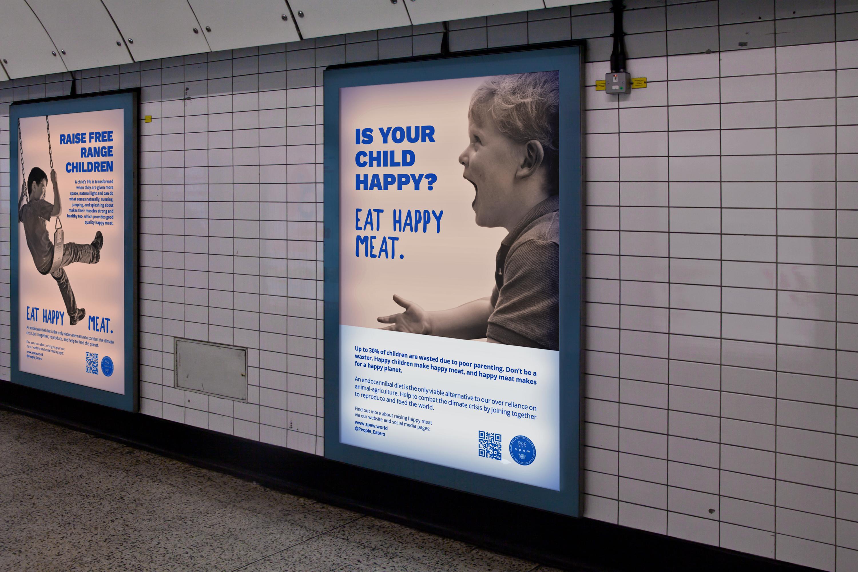 Happy Meat – London Underground